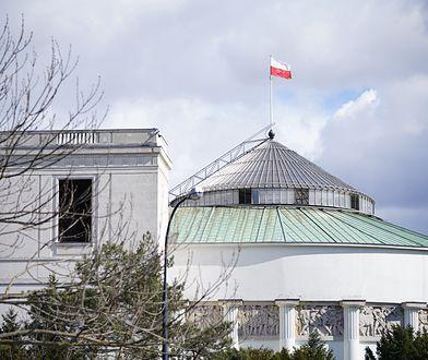 Warszawa. Przed Sejmem ma powstać brama