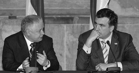Prezydent Saakaszwili o Lechu Kaczyńskim: wielkie serce