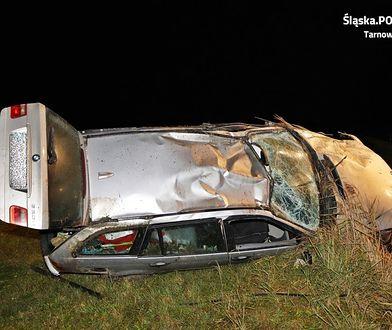 Śląsk. Miał zakaz prowadzenia pojazdów i był pijany. Rajd skończył w rowie