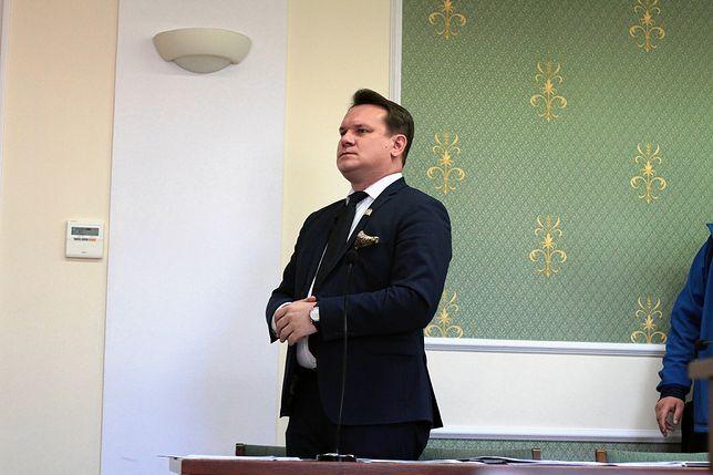 Dominik Tarczyński startował w tym samym okręgu, co Beata Szydło