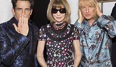 Znani aktorzy w rolach modeli na Paryskim Tygodniu Mody