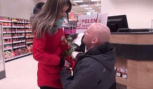 Irek i Justyna zaręczyli się w sklepie