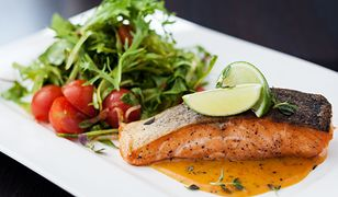 Pstrąg jest doskonałą rybą na zdrowy i dietetyczny obiad.