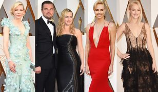 Oscary 2016: to one królowały na czerwonym dywanie!