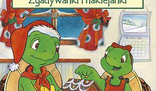Franklin zgadywanki i naklejanki. Franklin i Boże Narodzenie. Zgadywanki i naklejanki