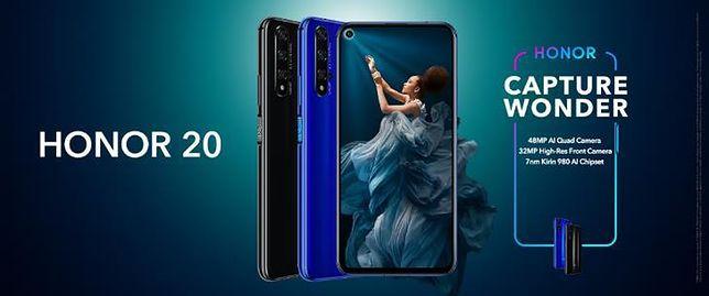HONOR 20 – premierowy smartfon, który podnosi poprzeczkę w  mobilnej fotografii