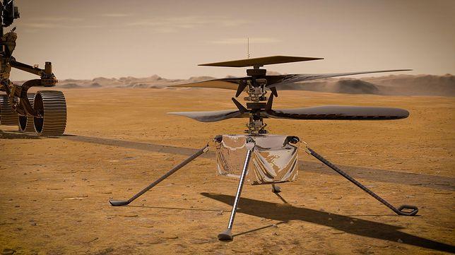 Marsjański śmigłowiec Ingenuity