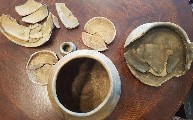 Podczas zabawy dzieci odkryły zabytki sprzed 2500 lat