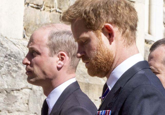 Wiemy, o czym rozmawiali książę William i Harry po pogrzebie