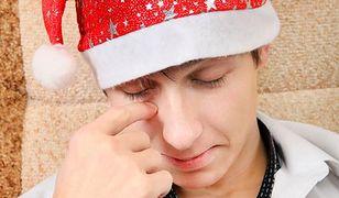 Świąteczna depresja rodzaju męskiego