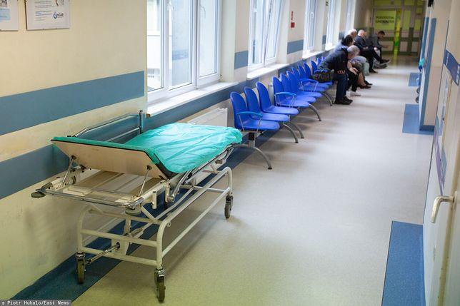 Wrocław. Z powodu gronkowca częściowo wstrzymano przyjęcia na oddział neurologiczny