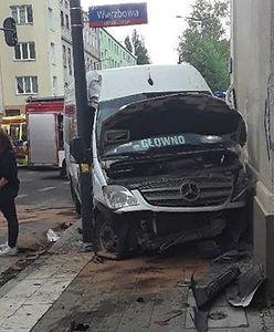 Dramatyczny wypadek w Łodzi. Wiele osób rannych