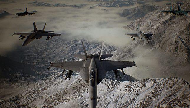 "Gra akcji ""Ace Combat 7: Skies Unknown"" od studia Bandai Namco"