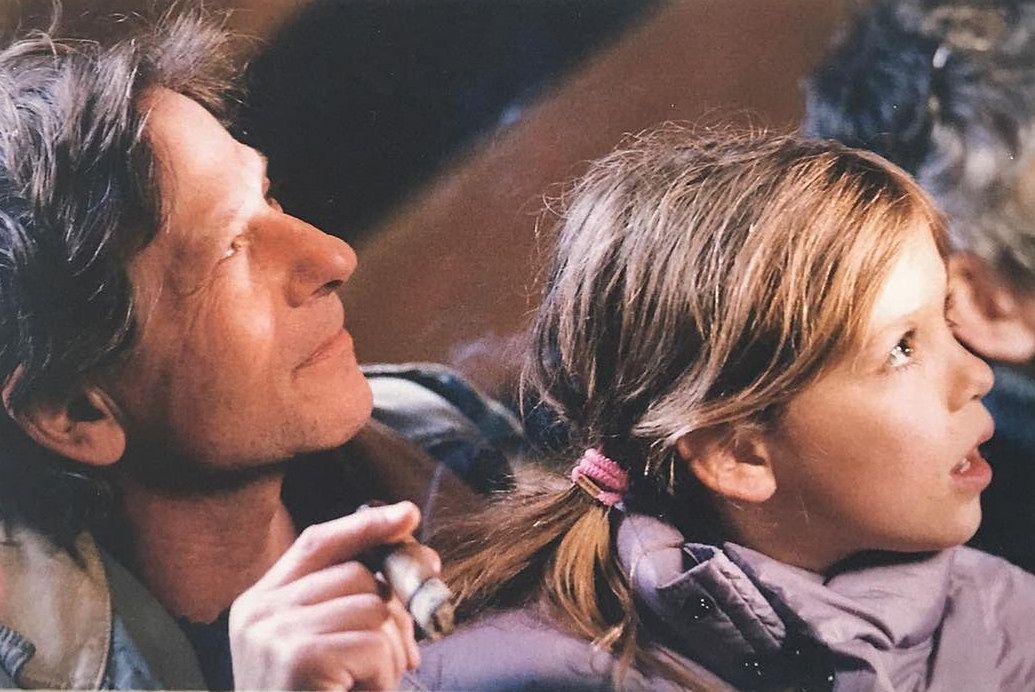 Polański ma piękną i zdolną córkę. Morgane może go przerosnąć