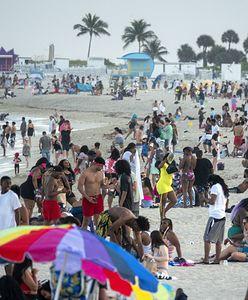 Floryda przeżywa oblężenie. Policja zatrzymała setki imprezowiczów w Miami Beach