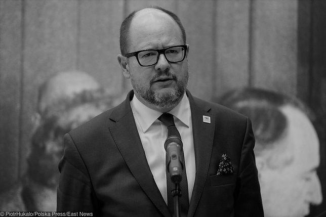 Paweł Adamowicz - wstrząs krwotoczny przyczyną śmierci prezydenta Gdańska