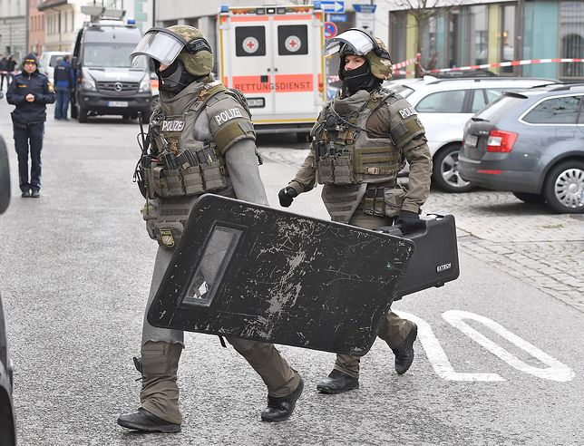 Niemieckie jednostki policji odbiły zakładnika