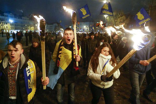 Potyczki z milicją w Kijowie trwają już kilkanaście godzin