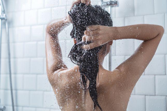 Litry z prysznica