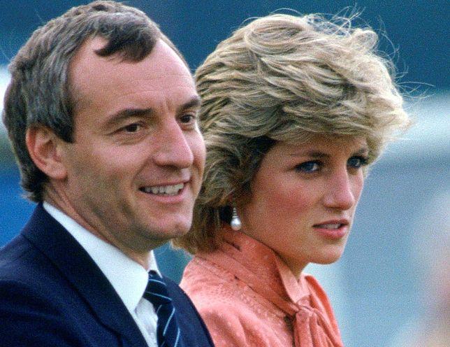 Barry Mannakee i księżna Diana