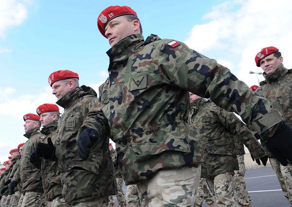 Żołnierze żandarmerii wojskowej mają swoje święto