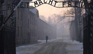 """Według PiS nowela ustawy o IPN ma zapobiec używaniu określenia """"polskie obozy śmierci"""". Na zdjęciu: brama byłego obozu Auschwitz"""