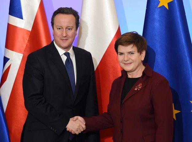 Beata Szydło i David Cameron
