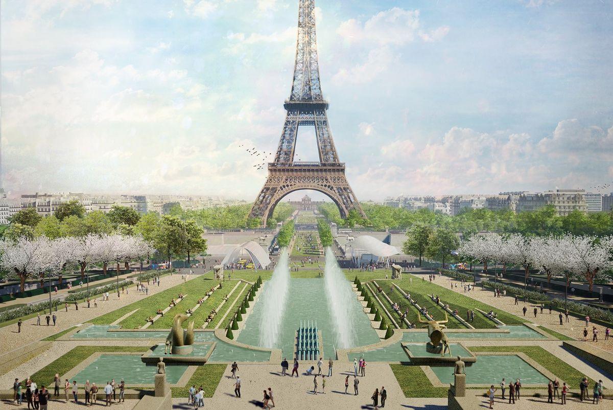Centrum Paryża ma ulec zmianie. Najbardziej zmieni się okolica Wieży Eiffla