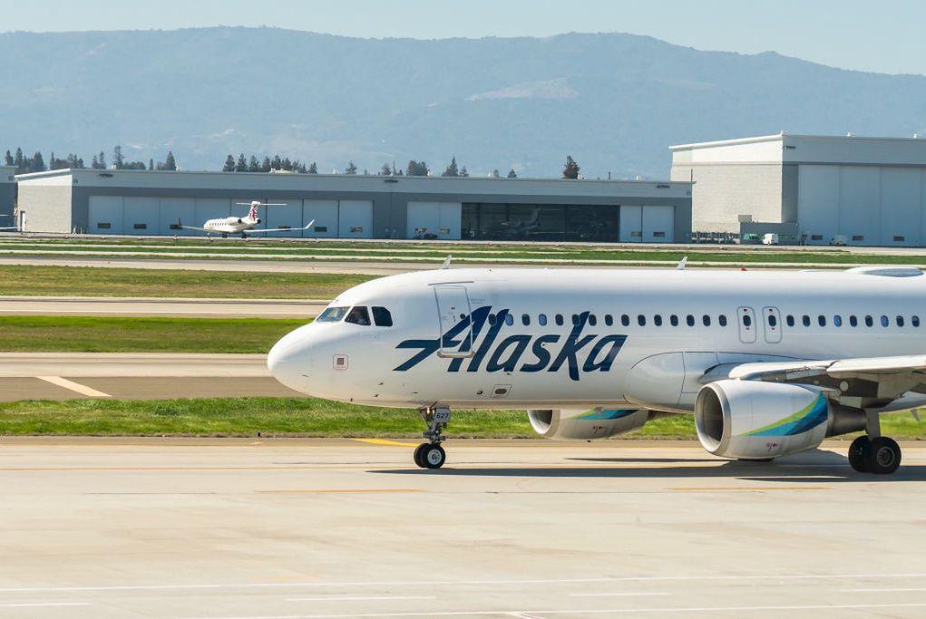 Samolot należący do linii Alaska Airlines