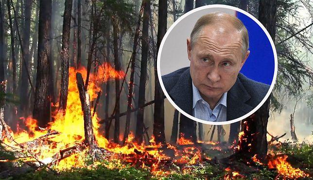 Palący problem Putina. Syberia wciąż w ogniu