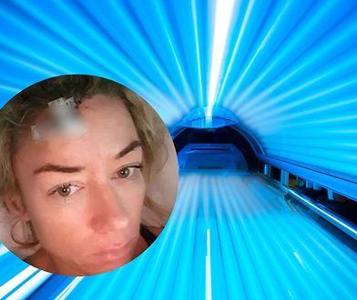 Erica Brook była uzależniona od solarium