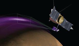 Zorza polarna odkryta na Marsie