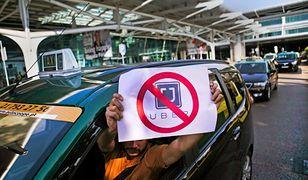 Taksówkarze zapowiadają protest przeciwko Uberowi