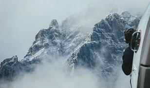 W wysokich górach śmigłowiec nie zawsze może pomóc
