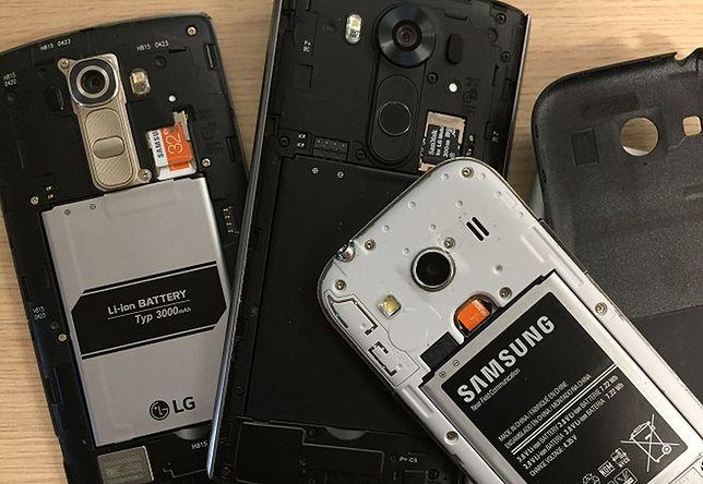 Baterie w smartfonach często rozładowują się za szybko