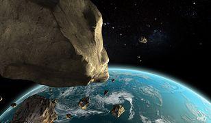 Dwie ogromne asteroidy znajdą się w najbliższych tygodniach niebezpiecznie blisko Ziemi. Pierwsza z nich będzie widoczna jeszcze dziś