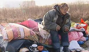 Bezdomna pani Elżbieta przeniesiona z Poznania do Gdańska trafiła do szpitala