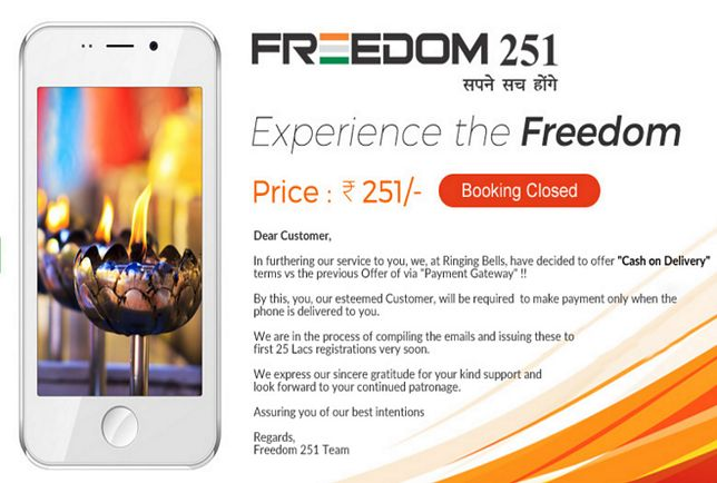 Freedom 251 - 20 zł