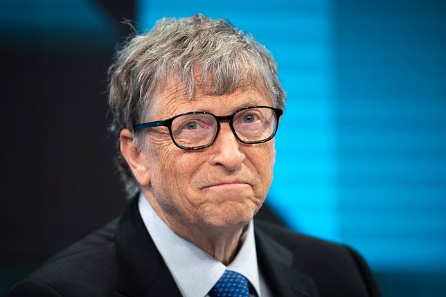Bill Gates na moment zyskał prestiżowy tytuł