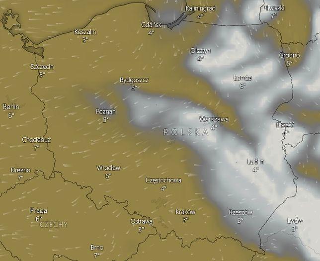 Chmura nad Polską efektem pożaru w Czarnobylu? Synoptycy zabrali głos
