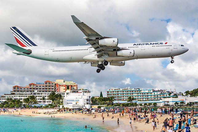 Huragan Irma uderzył w słynne lotnisko na Karaibach