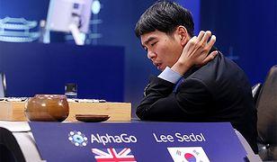 Lee Sedol w czasie rozgrywki z AlphaGo