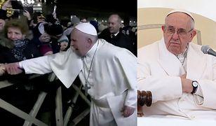 Papież Franciszek ostro zareagował wobec szarpiącej go za rękę kobiety. Następnego dnia przeprosił za swoje zachowanie.
