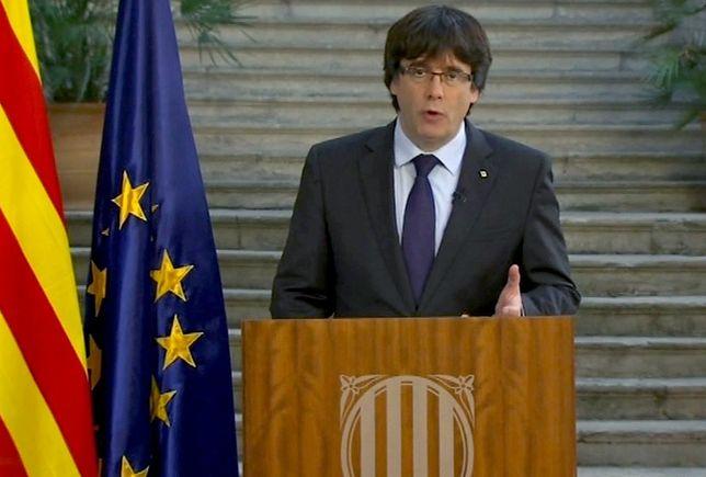 B. szef rządu Katalonii szuka azylu w Belgii?