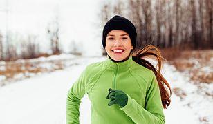 Bieganie zimą może być przyjemne