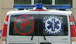 Atak nożownika w Małopolsce. Raniony mężczyzna jest w ciężkim stanie
