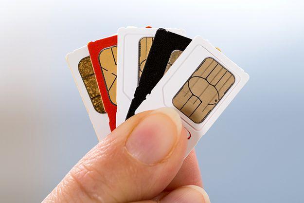 W internecie kwitnie sprzedaż kart SIM