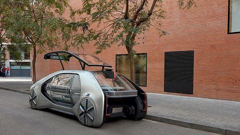 Autonomiczne samochody zmienią oblicze miast. Renault wyjaśnia szczegóły i zapowiada konkurs