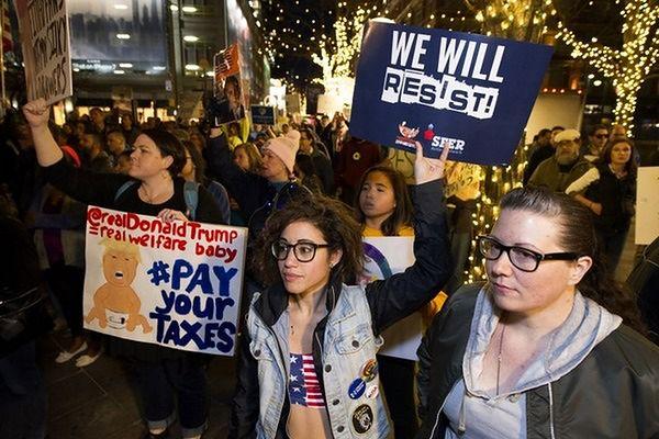 """""""Dzień prezydentów"""" w USA pod znakiem protestów"""