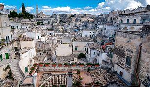 Sassi di Matera - skalne miasteczko we Włoszech